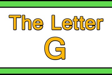 The Letter G Songs