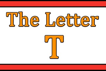 The Letter T Songs