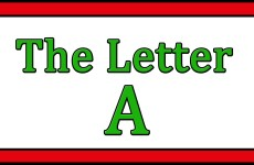 The Letter A Songs
