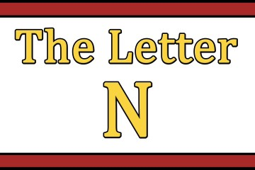 The Letter N Songs
