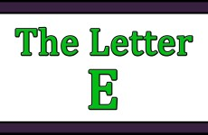 The Letter E Songs