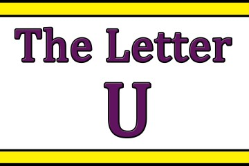 The Letter U Songs