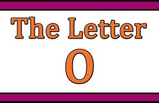 The Letter O Songs
