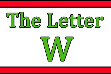 The Letter W Songs