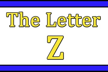The Letter Z Songs