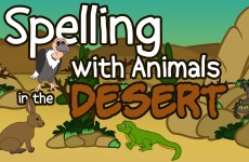 Desert Animals Spelling Song