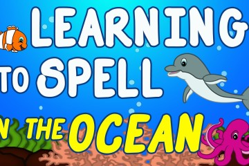 Spelling Ocean Animals for Kids