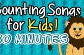30 Minutes of Kids Counting Songs