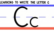 Write the Letter C