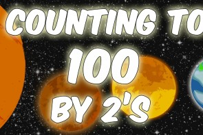Counting to 100 by 2's