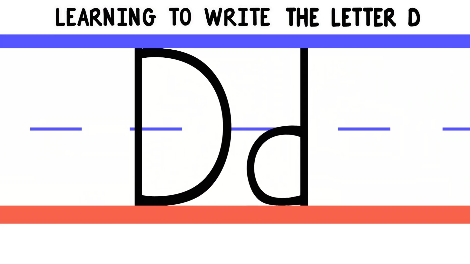 writing letters letter d practice handwriting downloads 123abc tv 25846 | 1755