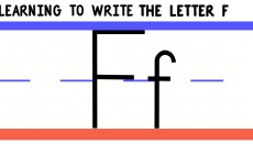 Write the Letter F