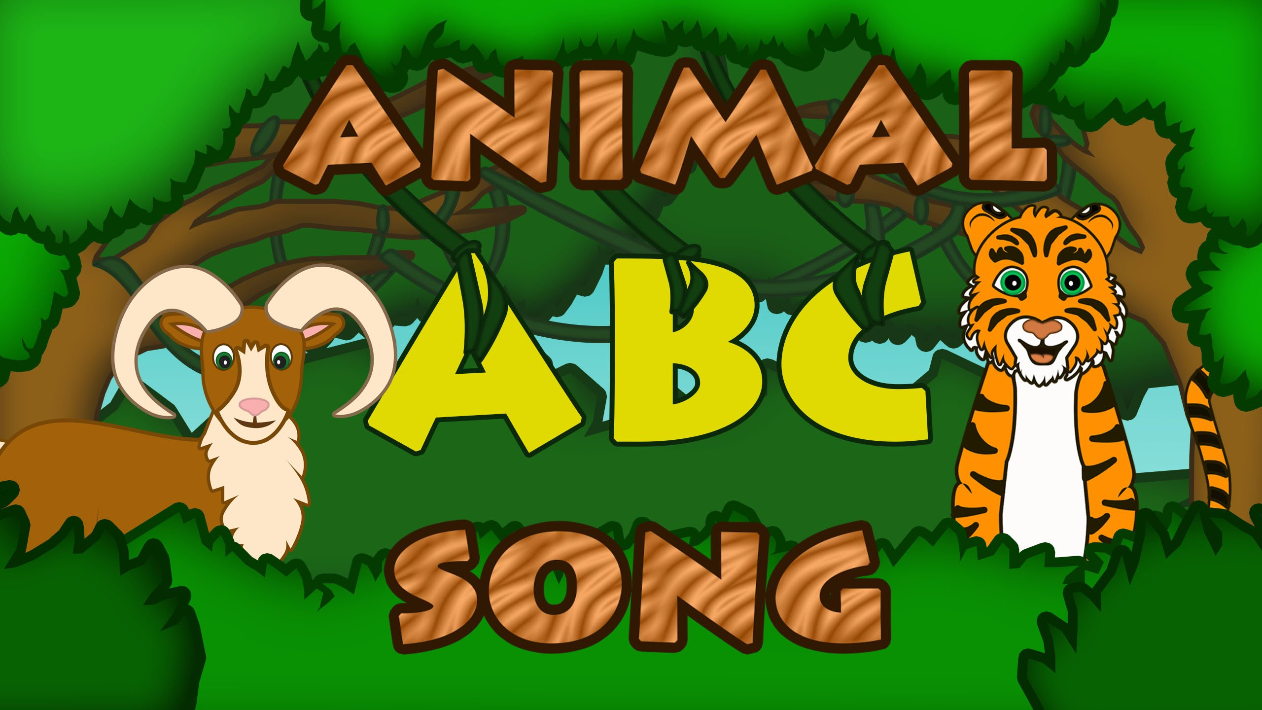 ABC ANIMALS SONG Learn ABC Song Animal Songs for Kids Preschool by ...