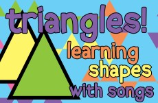 TRIANGLE SONG FOR KIDS