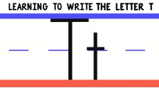 Write the Letter T