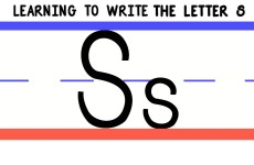 Write the Letter S