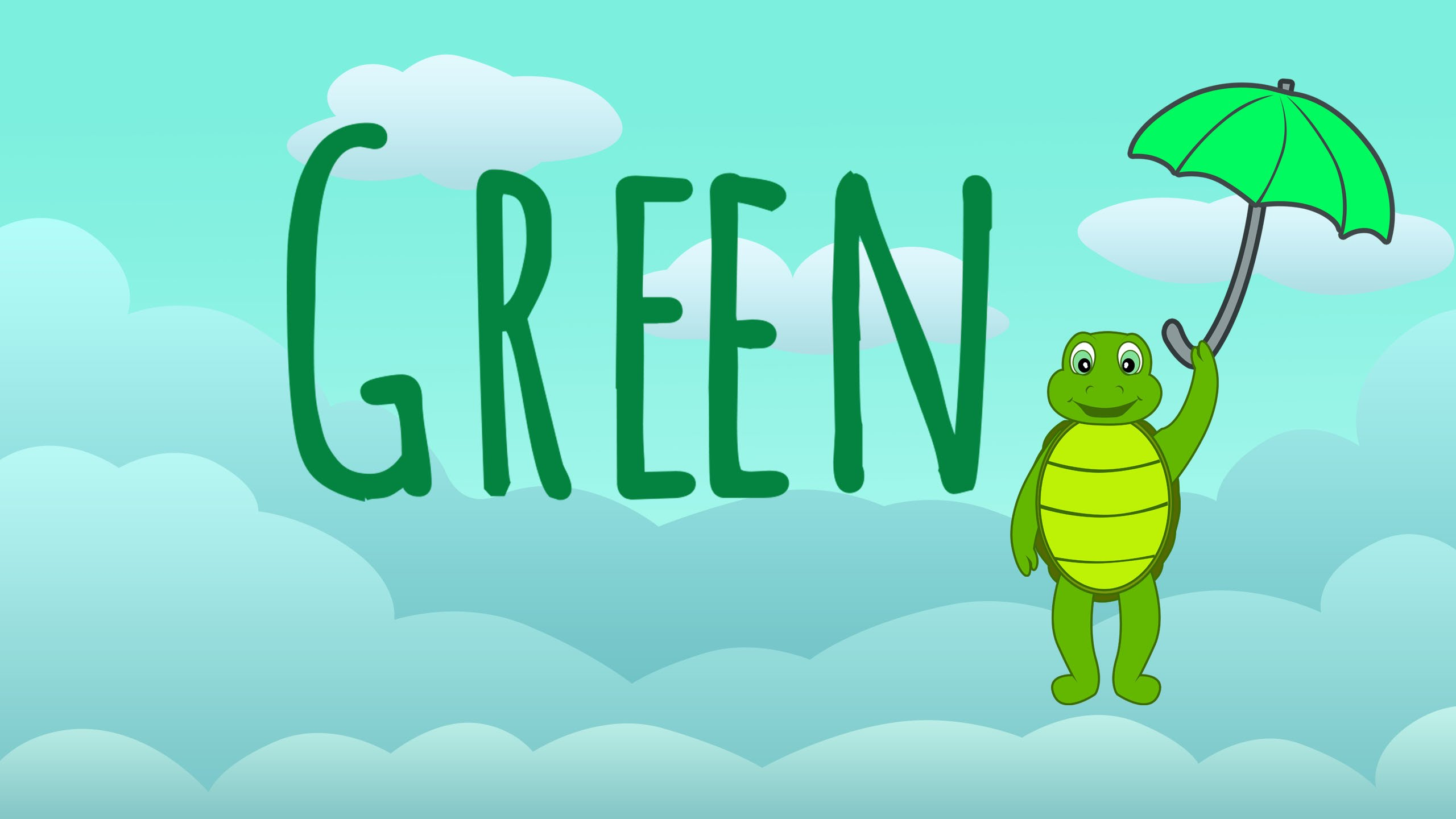 The Color Green Song – Learn Colors Songs Green Color Song Preschool ...
