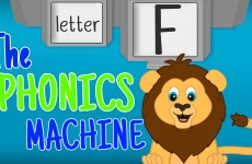 THE LETTER F Phonics Machine