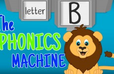 The Letter B Phonics Machine