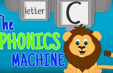 THE LETTER C Phonics Machine