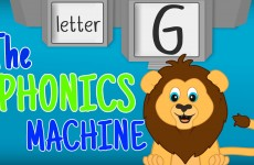 THE LETTER G - Phonics
