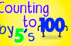 Counting by 5's Song to 100