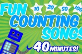 Fun Counting Songs for Kids