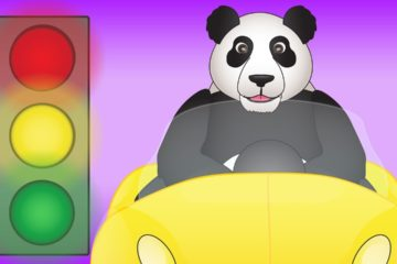 Stop and Go Song for Children - Red Means Stop Green Means Go
