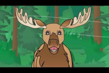 """I'm a Big Ol' Moose"" - Moose Kids Song - Fun Moose Song for Children"