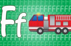 Letter F Song for Kids - Words that Start with F - Animals that Start with F