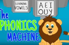 Learn Vowels for Kids – Phonics Songs for Preschoolers – Liam the Lion Phonics Machine