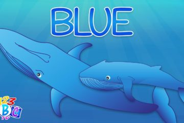 Blue! - Color Blue Song for Preschool - Blue Color Word Song