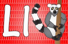 Letter L Song for Kids - Words that Start with L - Animals that Start with L