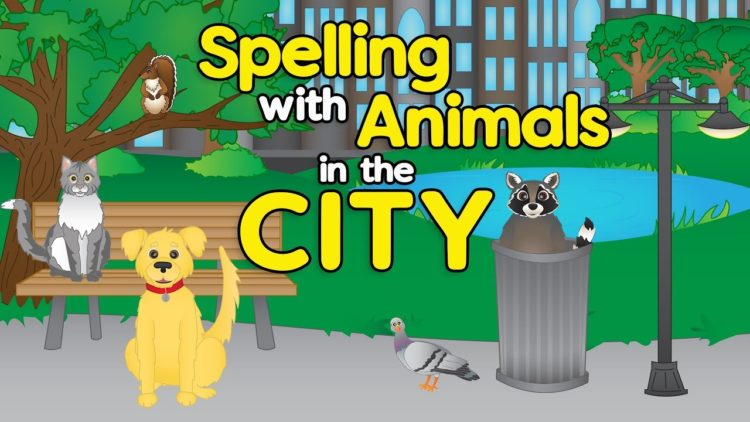City Animals- Spelling Songs for Preschool- Learn Animals for Children